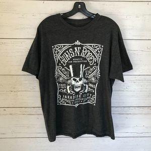 Guns N' Roses Charcoal Gray T-shirt